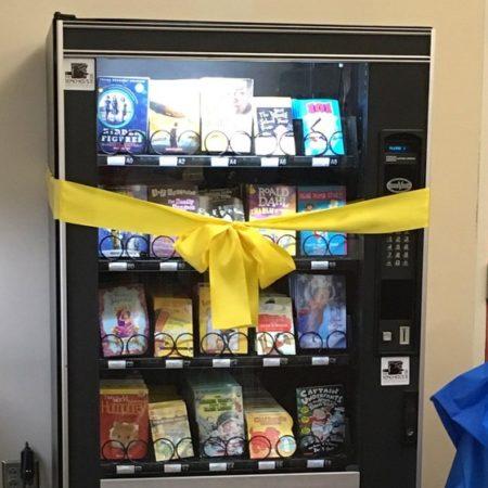 В США вендинг стимулирует школьников читать книги