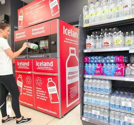 В Великобритании фандоматы приняли приняли более 310 000 бутылок