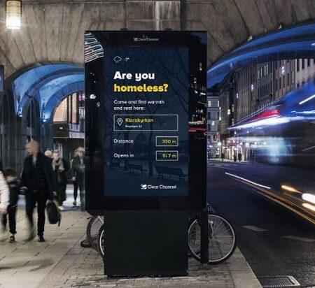 В Стокгольме Digital Signage киоски решают социальные задачи города